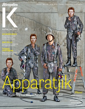 The cover of Aftenposten K, January 2013