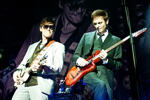 Morten Harket and Paul Waaktaar-Savoy, Amsterdam, 10 October 2010