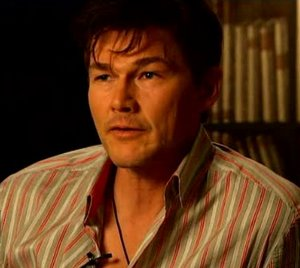 Morten at the press conference