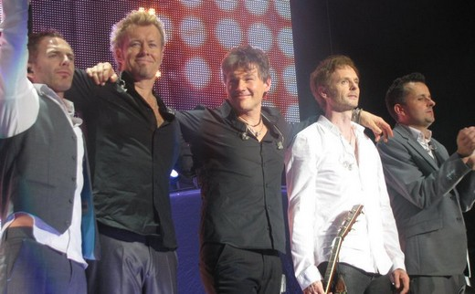a-ha in Vilnius, 2 November 2010