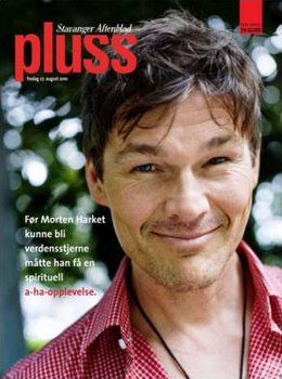 Morten on the front page of Stavanger Aftenblad Pluss.