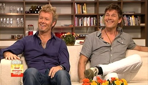 Magne and Morten on God Morgen Norge.