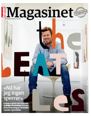 Cover of Magasinet, May 11th