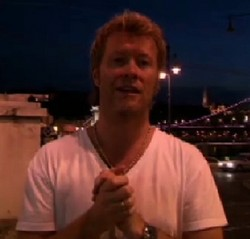 Magne says hello from Budapest.