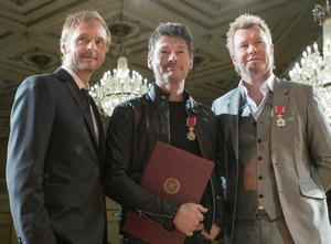 Receiving the Royal Order of St. Olav, November 6th 2012.