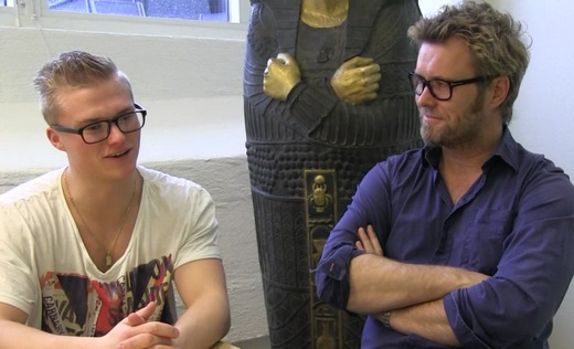 Marius Beck and Magne, interviewed during The Voice last year