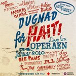 Dugnad For Haiti CD cover