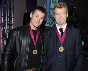Morten and Magne in London, October 15th