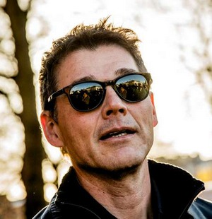 Morten outside Uranienborg church, November 12th