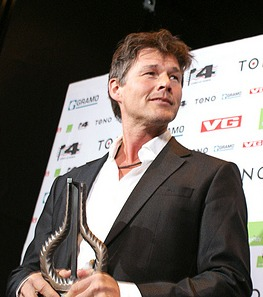 Morten at the 2010 Spellemann Awards