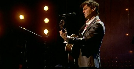 Morten on stage at the Opera House in Oslo