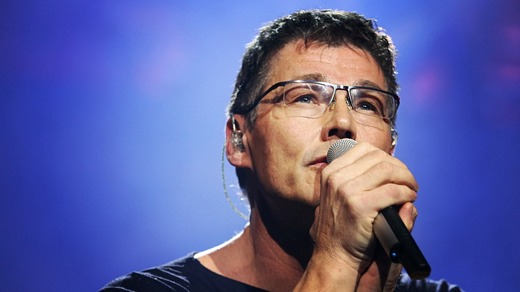 Morten on stage in Munich this weekend (Photo from br.de)