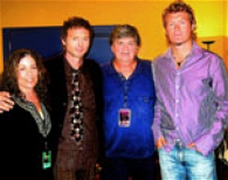 Paul and Magne with Phil Everly and his wife Patti in 2004
