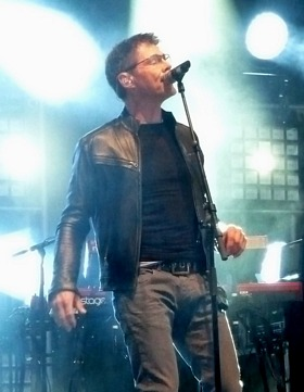 Morten at Over Oslo Festivalen, June 20th (Picture by Jakob)