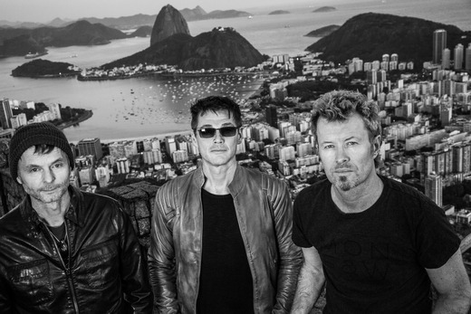 a-ha in Rio de Janeiro this week (Promotional photo taken by Just Loomis)