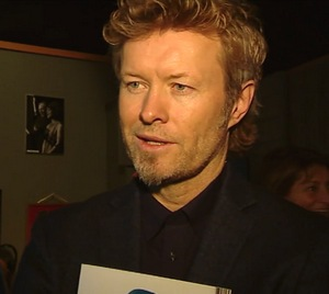 Magne at Rockheim, January 29th (Screenshot from NRK Midtnytt)
