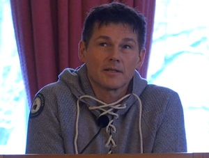 Morten speaking in Oslo, Jan. 30th