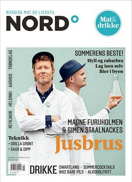 The cover of NORD magazine, June 2015