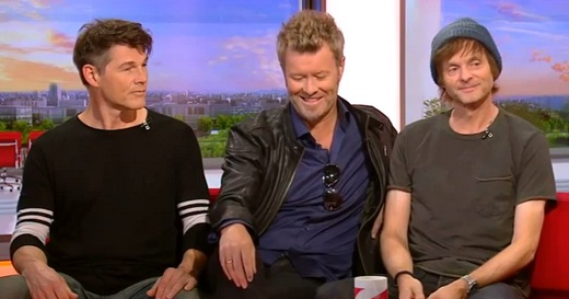 a-ha on BBC Breakfast, September 2nd