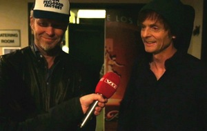 Magne and Paul interviewed by VG after the show