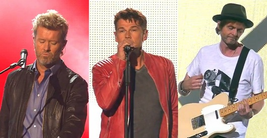 a-ha performing at the Goldene Henne Awards in Berlin, September 5th