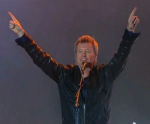 """A fantastic audience"", Magne said after the show"