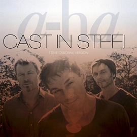 "Cover image of new single ""Cast In Steel"" (Steve Osborne Version)"