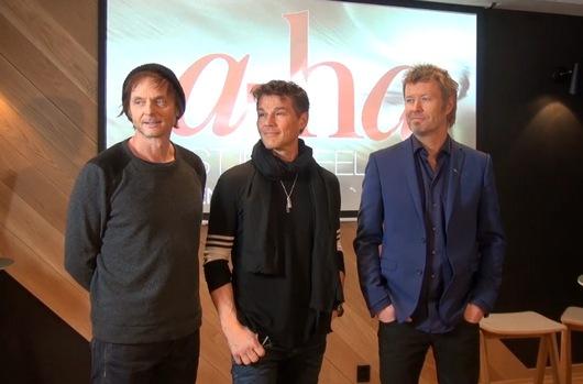 a-ha in Bergen, 8 December