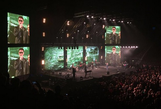 Manchester Arena, March 25th (Picture by Lisa)
