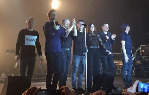 Karl Oluf, Magne, Even, Morten, Tini, Erik and Paul (Picture by Ruslan Tulaganov) - click to enlarge