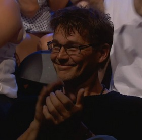 Morten in the audience