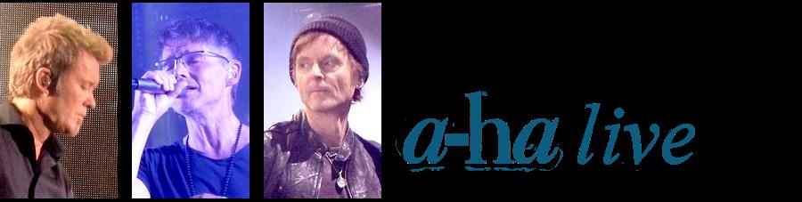 a-ha live
